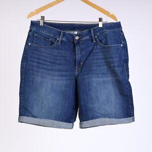 Levi-039-s-Bermuda-Damen-Ubergroesse-jeanshorts-18W