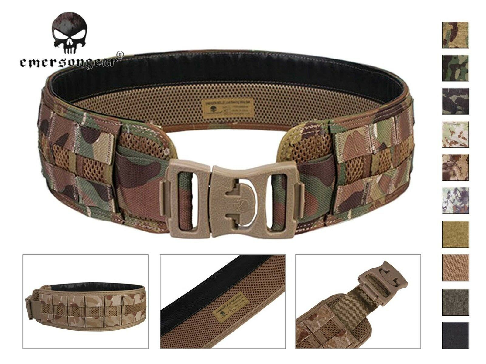 Emerson Molle Load Bearing Utility Belt  Airsoft Hunting Tactical Belt  no.1 online