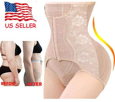 Hi-Waist Tummy Control Girdle Panty Body Trainer Shaper Butter Lifter Underwear