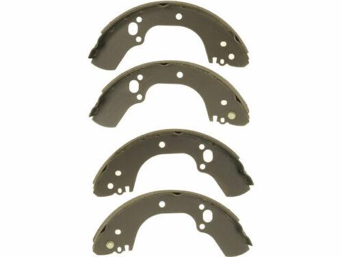 Rear Brake Shoe Set For 1998-2004 Isuzu Rodeo 1999 2000 2001 2002 2003 Y345MY