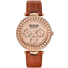 Versace Versus | Rose Gold | Women's Leather Watch | Sertie | RRP £300