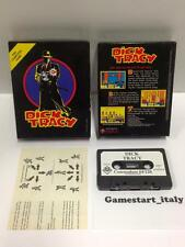 DICK TRACY - COMMODORE 64 C64 - USATO USED - TAPE