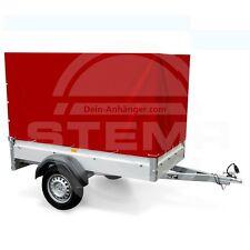 STEMA 100cm Hochplane Plane für Anhänger F FT7.5 750 DBL850 opti AN rot 1m 100cm