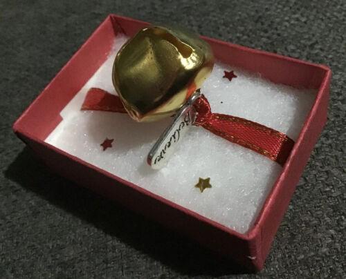 Polar Express je crois Bell sur Ruban de Noël Papier Cadeau Cravate /& Boîte Cadeau