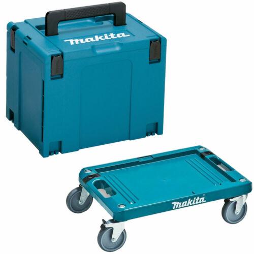 Makita 821552-6 Type 4 MAKPAC case large avec chariot P-83886 no Inlay