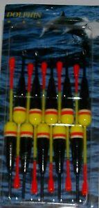 Set-mit-10-Laufposen-mit-2gramm-Trgkraft-von-Paladin-Dolphin-gelbschwarz
