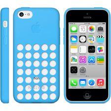 ORIGINALE per Apple iPhone 5c silicone Dot Case-blu mf035zm/a