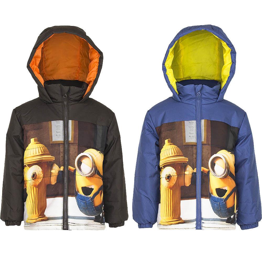 Acheter Pas Cher Nouveau Veste D'hiver Capuche Garçons Veste Sous-fifres Loisirs Veste Bleu Marron 98-116 #15 à Tout Prix