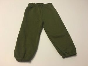 Bottoms Boys Fleece Pants 24 Months Green Kids Infants Baby Kids Baby & Toddler Clothing