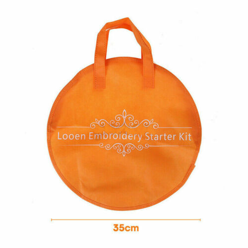 Cross Stitch Embroidery Large Capacity Storage Bag Non-woven Needlework Tool Bag