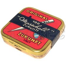 100 Grammophonnadeln in Marschall ORIGINAL ZUKUNFT LAUT Dose - steel needles tin