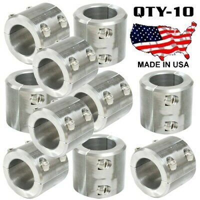 """2 Steel Universal Weld On Roll Bar Clamp 1.5/"""" Bar Cage Fabrication Cooler Mt 2Bt"""