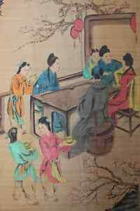 Excellent-Chinese-Scroll-Painting-By-Zhang-Daqian