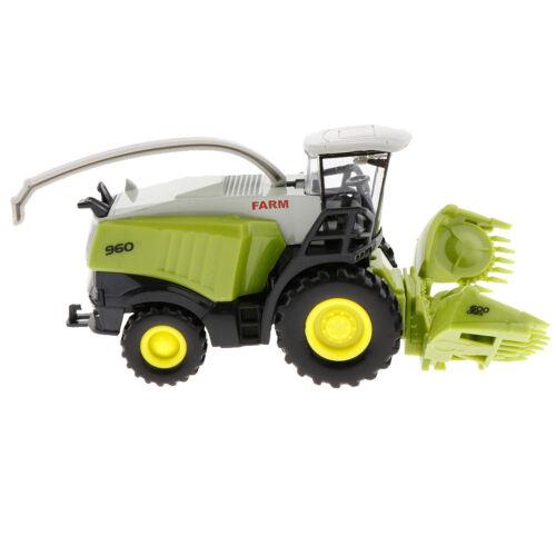 1//42 Diecast Mähdrescher Erntearbeiter Push And Go Spielzeugauto Für Kinder