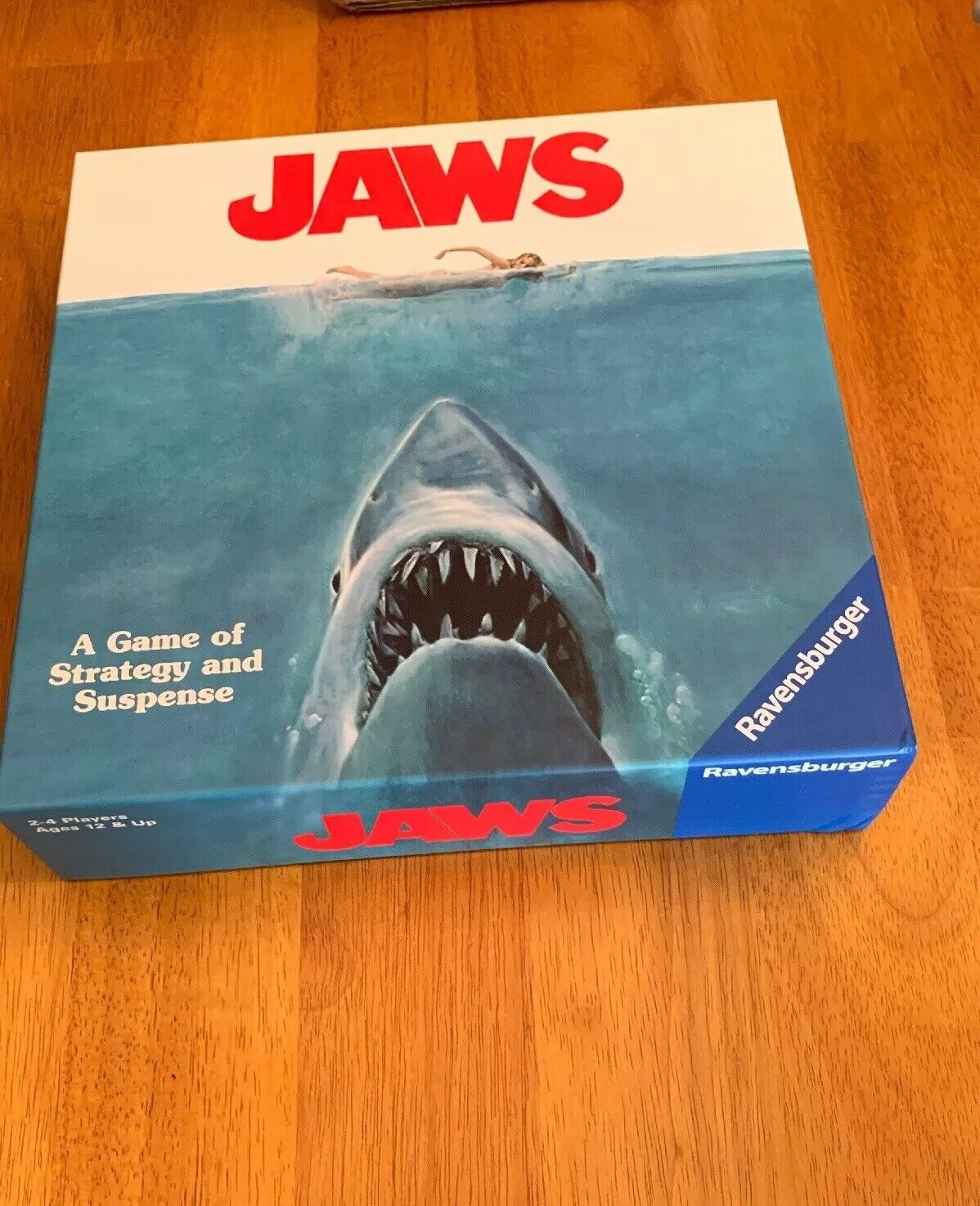 JAWS BOARD GAME, New, Sealed Target Exclusive by Ravensburger.