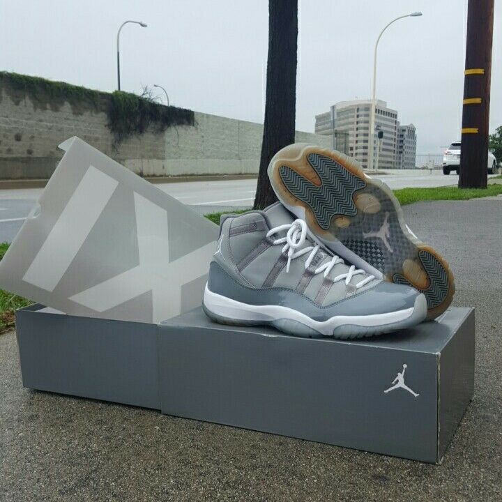 Cool grey 11s size 11