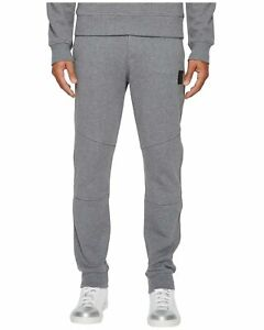 Belstaff-Oakington-Men-039-s-Jogger-Pants-Fleece-Sweatpants-Small-Dark-Grey-Melange