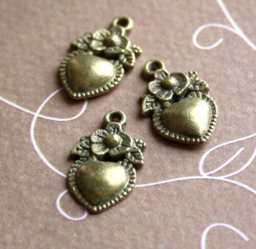Heart Charms Heart Pendants choose your design