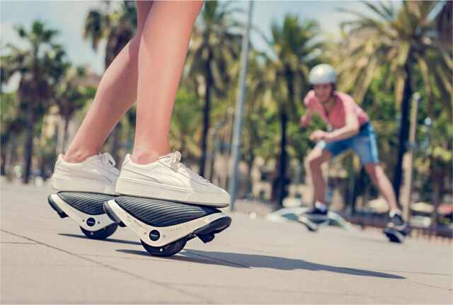 Ninebot by Segway Drift W1 Electric Hover Rollerskates Drive in Just ... f103f9c4912d