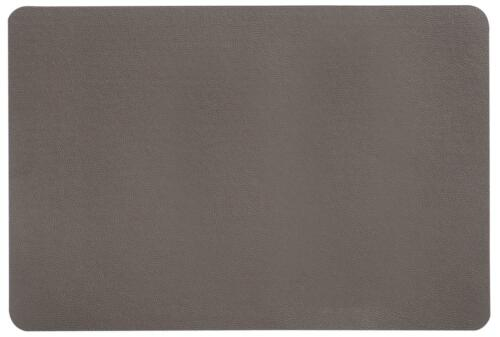 Tischset LEDEROPTIK braun 44x29cm Kunststoff Kesper Platzset
