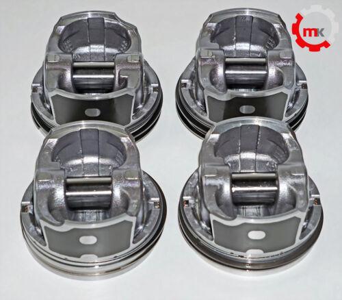0,50mm CDN Audi VW Seat Skoda 2,0 TFSI Kolben Piston Set 4 Stück Übermaß