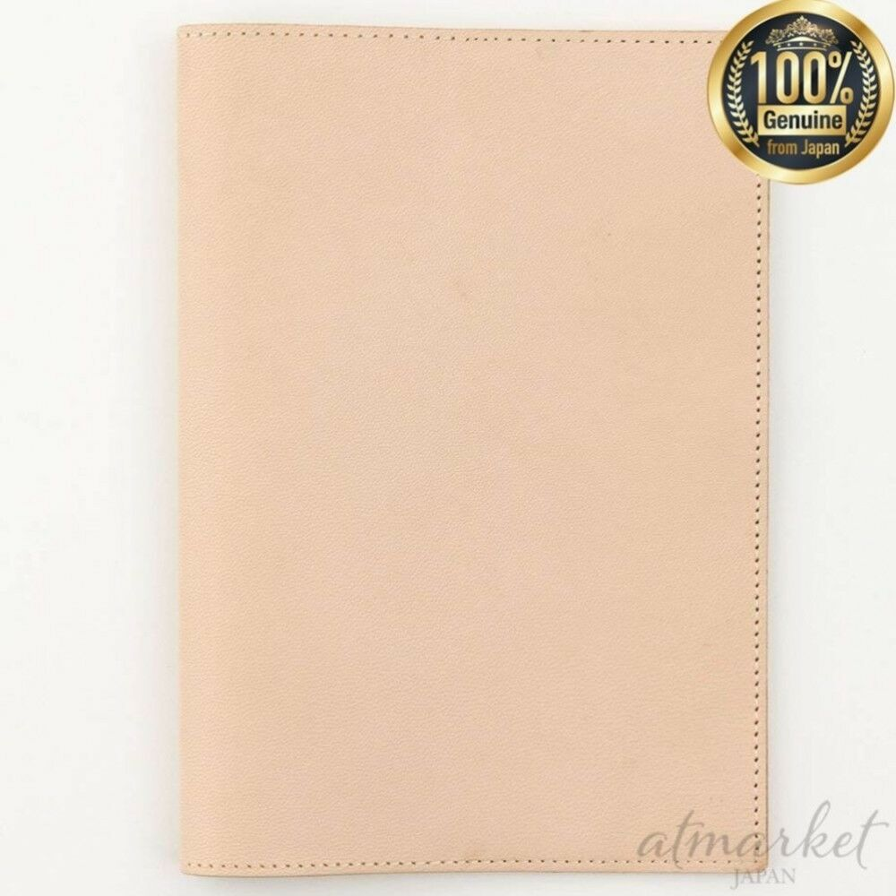 Midori note MD notebook cover A 5 leather goat neme 49845006 genuine from JAPAN