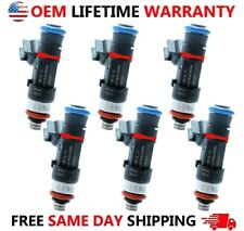 Oem X6 Bosch Fuel Injectors For Buick Enclave Gmc Acadia Saturn Vueoutlook 36l