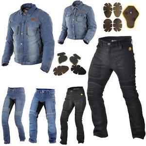 Trilobite-paradoxale-veste-pantalon-protecteur-incl-d-039-aramide-Moto-Jeans-Hommes-Femmes