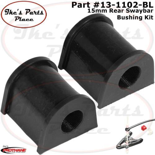 Prothane 13-1102-BL Rear 15mm Sway Bar Bushing Kit  95-99 Eclipse//Talon-FWD