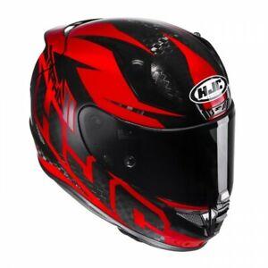 NEU-HJC-Helm-RPHA-11-Carbon-Lowin-red-S-55-56-Motorradhelm-dunkles-Visier
