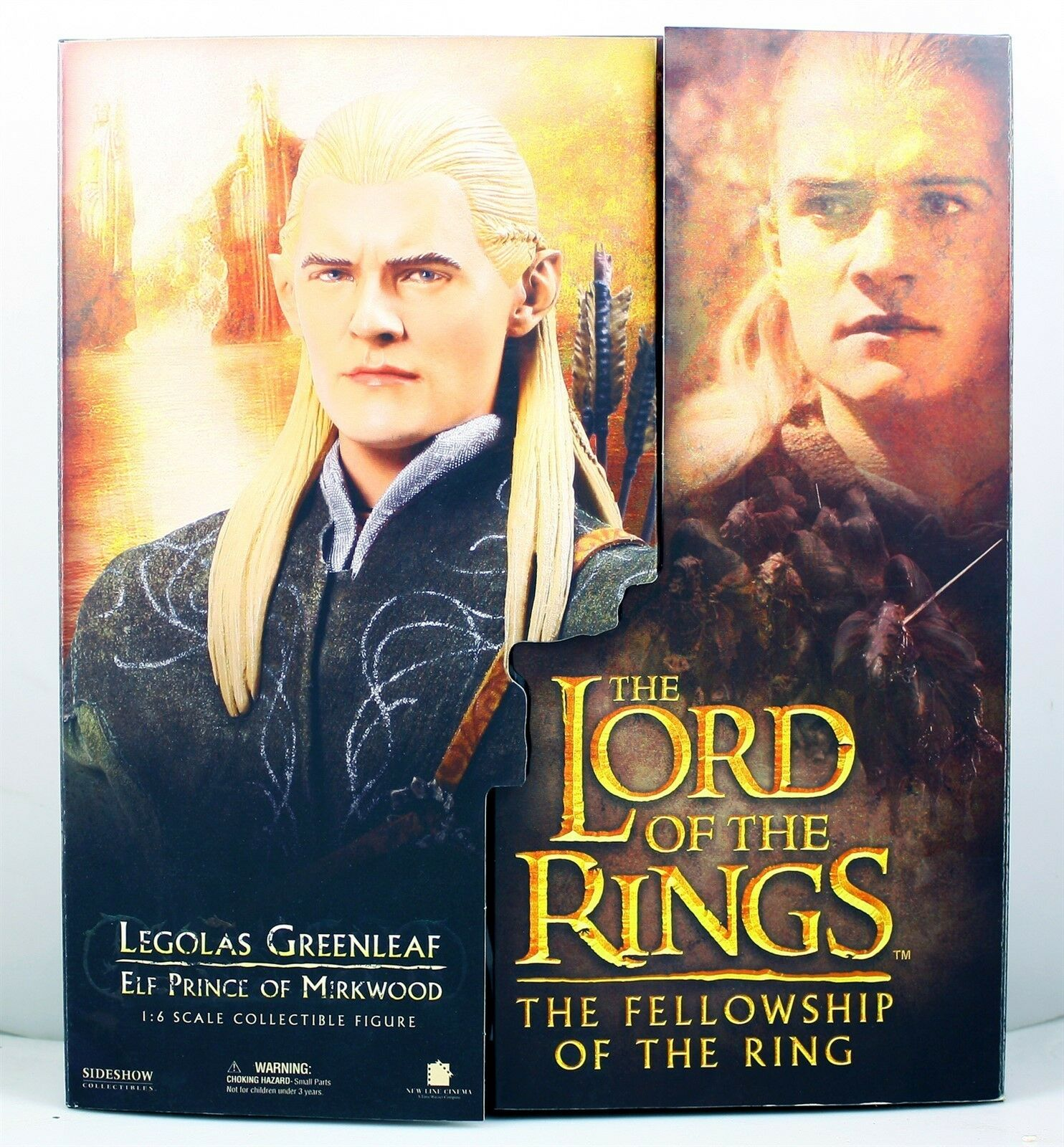Lord of the Rings The Fellowship of the Rings Legolas Grünleaf 1:6 Scale Figure
