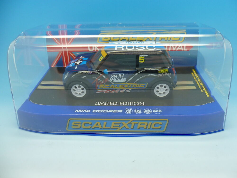 Scalextric C3563 Team Mini UKSF, Limited Edition RUSC