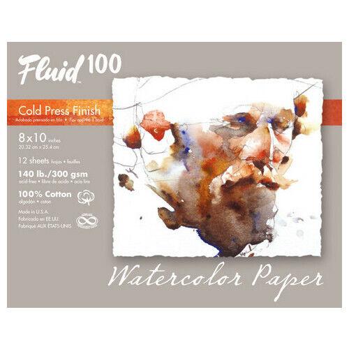FLUID 100 EZ 140LB COLD PRESS 11X14 POCHETTE