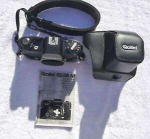 Rollei-SL-35-M-with-case-Rollei-f2-8-35mm-lens-Rolleinar-f2-8-135mm-lens