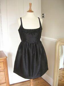 Kate Moss Topshop Black Jewelled dress size 12 Party - Countryside, United Kingdom - Kate Moss Topshop Black Jewelled dress size 12 Party - Countryside, United Kingdom