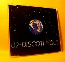 MAXI Single CD U2 Discotheque 4TR 1997 house broken beat big beat