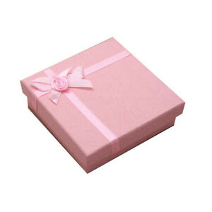 Details About Jewellery Gift Boxes Pendants Necklaces Bangles Watches Earrings Packaging Pink