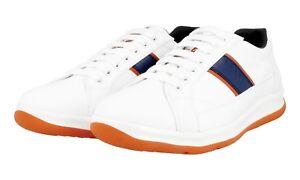Schuhe Luxus 4e2987 New 8 Weiss Papaya 5 Sneaker Neu Prada 5 42 43 rCxBdoe