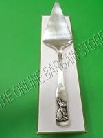 Pottery Barn Party Easter Bunny Rabbit Cake Pie Torte Silver Plated Server Knife