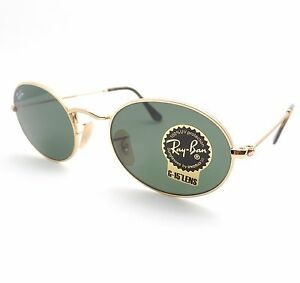 00f251edd05 AUTHENTIC Ray Ban 3547 N 001 Shiny Gold Flat G15 Green New ...