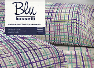 Sheets-Flannel-BASSETTI-Double-Ithaca-Size-MAXI-Wisteria-Green