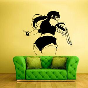 anime girl decal