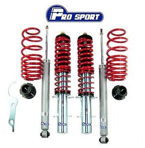 vw  beetle   coilovers adjustable suspension lowering springs kit ebay