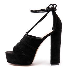 SIREN Maya Black Heels