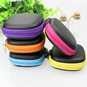 Mini-bunte-quadratische-Tasche-Tasche-Tasche-Aufbewahrungsbox-In-Ear-Kopfhoer-BC