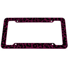 Made of Plastic Moo Cow License Plate Frame