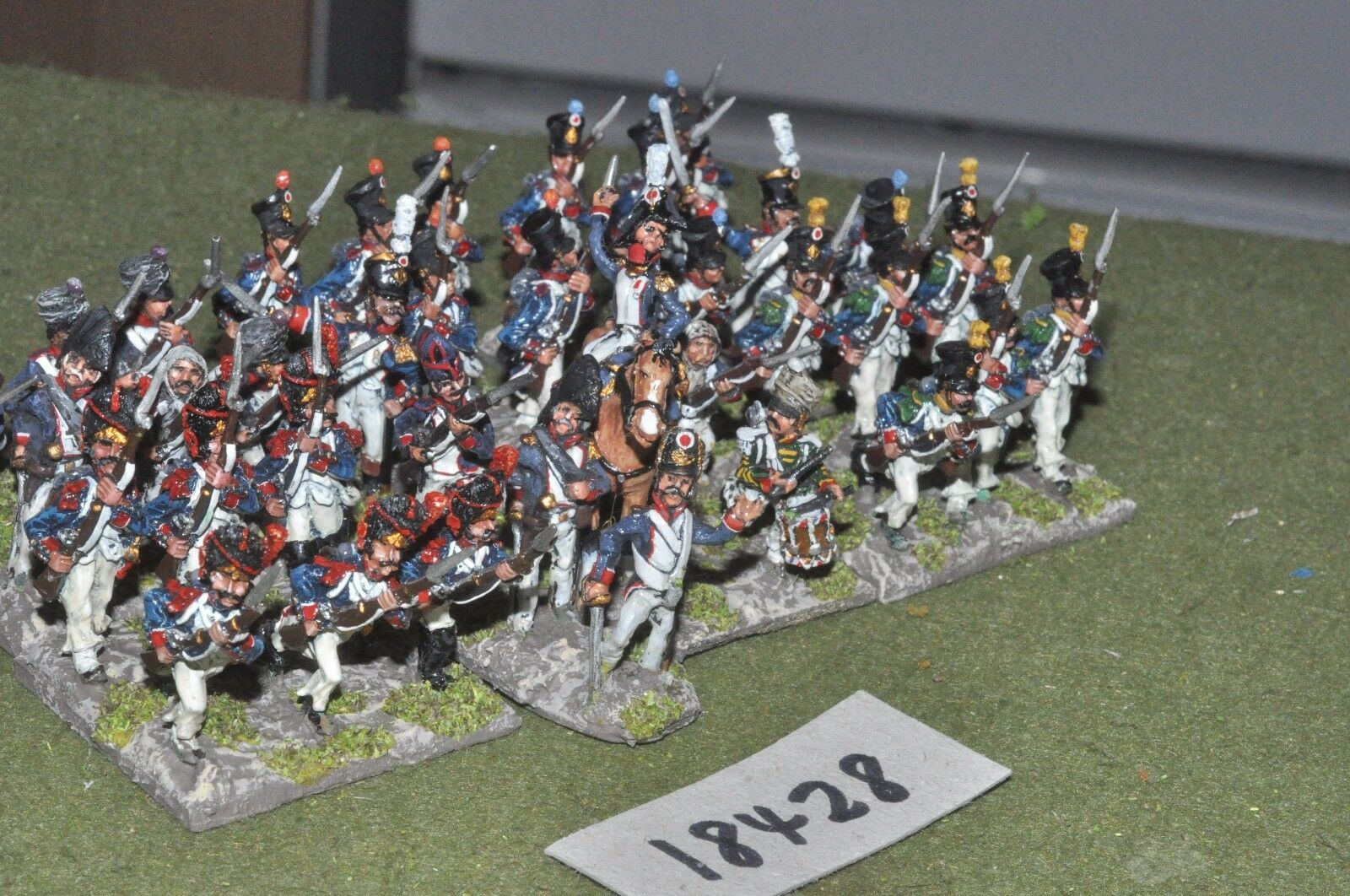 25mm napoleonic   french - infantry 36 figs - inf (18428)