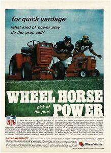 bcb0fbdef00 A imagem está carregando 1970-Wheel-Horse-Gramado-Trator-De-Jardim-Chicago-