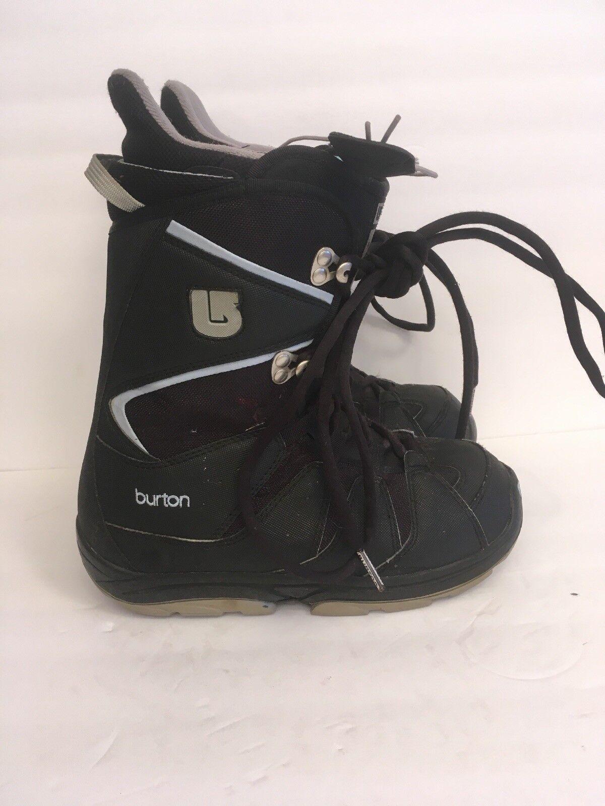 Burton Women's Sz 7 Moto Snowboard Boots