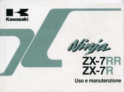 2019 Ultimo Disegno Kawasaki Ninja Zx-7 Rr Zx-7 R 1997 Manuale Uso Manutenzione Originale Italiano Per Migliorare La Circolazione Sanguigna